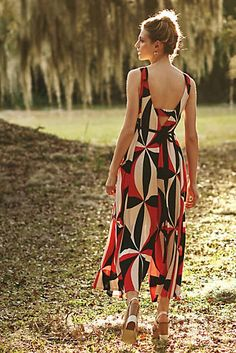 Print is a bit much but love the wide leg and cut of neckline.  Tallulah Wide-Leg Jumpsuit