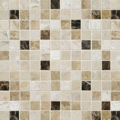 Marble Systems 6-Pack 12-in x 12-in Multicolor Natural Stone Wall Tile $25.08/sq.ft