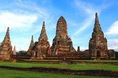 Ayutthaya, las ruinas arqueológicas más impresionantes de Asia #Viajes
