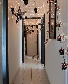 Linda decoración navideña para tu hogar