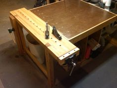 Rubio Style Workbench Add-On - by TechRedneck @ LumberJocks.com ~ woodworking community