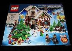 lego winter village - toy shop