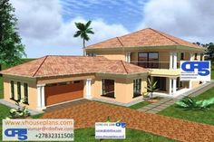 Free House Plans, House Floor Plans, Dream Homes, My Dream Home, Empire House, House Plans South Africa, Bungalow House Design, Site Plans, 4 Bedroom House