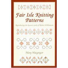 Fair Isle Knitting Patterns :: Non Fiction :: Books :: Shetland Heritage Shop