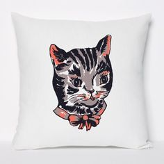 cat pillow by Domestic