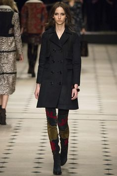 BURBERRY PRORSUM COLLECTION AUTUMN / WINTER COLLECTION 2015 / 2016 #EZONEFASHION
