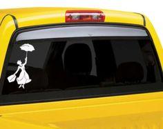 Mary Poppins ventana calcomanía etiqueta