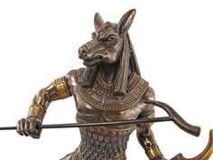 Ancient Egyptian god, Set (or Seth), god of chaos, supposedly with head of a aardvark, sometimes as a oryx.