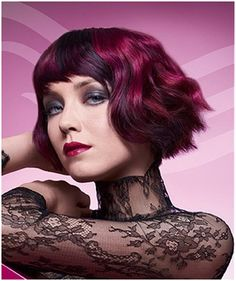 Bold and Bright Funky Hairstyles For Short Hair Interesting...can't say I would do them but fun to look at.