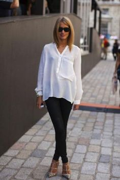 balance volume with slim cuts #fashion