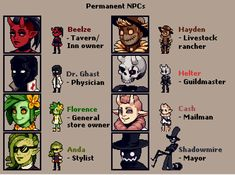 Please consider: A farming game where you're the new human in town, grow crops like Crawliflower and Scarematoes that may try to bite back, and make friends while uncovering the secrets of this sleepy. Pixel Characters, Monster Characters, Nail Bat, Arte 8 Bits, 2d Game Art, Pixel Animation, Pixel Art Games, Character Design Inspiration, Game Design