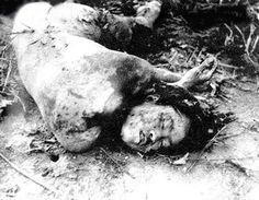 The Rape Of Nanking --Chinese woman stripped naked , gang-raped by invading Japanese soldiers,then summarily executed by decapitation.