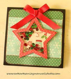 Tarjetas Navidad Scrapbooking