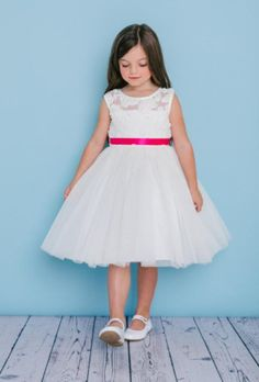 7d823bbbb74 Rosebud flowergirl dress style 5136 available online for purchase.
