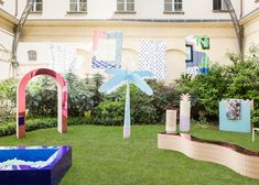 Exhibition design for Swiss Love Design, an exhibition organized by Pro Helvetia
