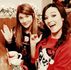Carmilla Christmas Special; Elise Bauman and Natasha Negovanlis