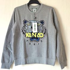 Authentic Kenzo SS14 Tiger Women's Sweatshirt Brand new with tags from Barneys Kenzo Sweaters Crew & Scoop Necks