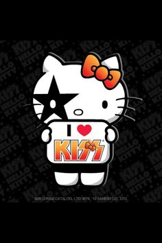 Hello Kitty Kiss fan