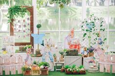 Leni's Birthday / Beatrix Potter Peter Rabbit - Photo Gallery at Catch My Party