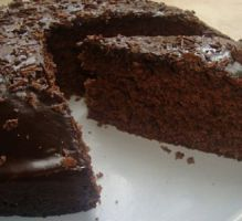 Recipe - Chocolate Danette Cake - Rated by Internet users Death By Chocolate, Chocolate Lovers, 123 Cake, Chocolat Recipe, Chocolate Thermomix, Chocolate Sponge Cake, Pan Dulce, Vegan Sweets, Chocolate Factory
