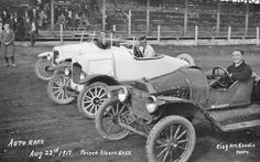 AUTO RACING: 1917 Model T Ford Speedsters and Racing Cars