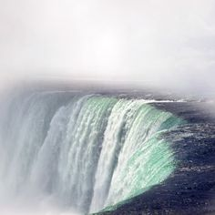 Makes your heart thunder before you even see it ... Niagara Falls, New York, USA (photo by vaggelisf)