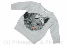 Little Pieces - sweat Bian light grey