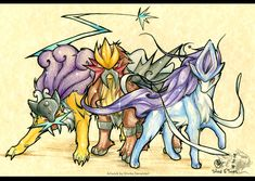 pokemon life characters names only | Legendary Pokemon Dogs