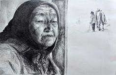 Artwork >> Ana Pantea >> Nana