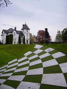 Charles Jencks' Garden of Cosmic Speculation, Portrack House, Dumfries, Scotland