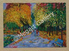 Artist:Mixalis Magkakis Title: A Walk In The Park 60x90 acrylics Price: 600€