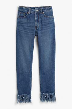 Kimomo long fringe jeans