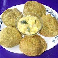 Palak Puri Recipe from givoli.com