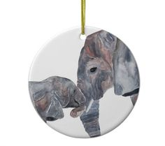 Easy Elephant Drawing, Elephants, Christmas Ideas, Ornaments, Drawings, Unique Jewelry, Handmade Gifts, Vintage, Etsy