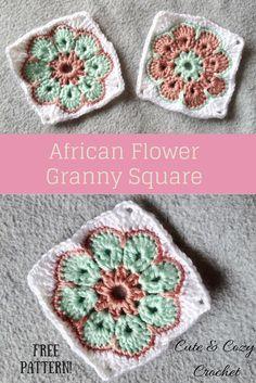 43 Besten Häkeln African Flowers Bilder Auf Pinterest Crochet