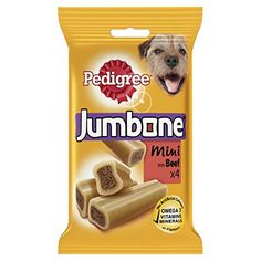 From 8.00 Pedigree Jumbone Small Dog Treat With Beef Pack Of 8 (total 32 Treats)