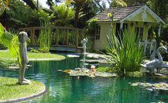 """Footbridge """"Dream Team's"""" Portland Garden Garden Design Calimesa, CA"""