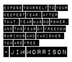 I'm surprised Jim Morrison said this- perhaps he was quoting someone else? But in any case, it's good.