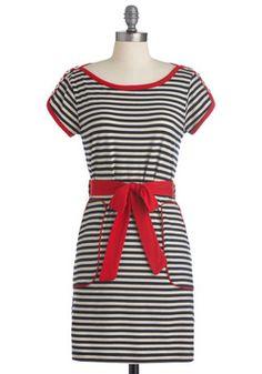 Aye, Aye, Cutie Dress #modcloth #styleicon