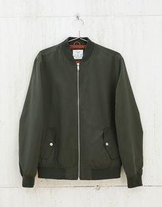 Coloured bomber jacket - New - Bershka Poland