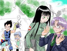 Trunks Y Mai, Dragon Ball Z, Manga Comics, Rwby, Anime, Comic Books, Fan Art, Graphic Novels, Devil