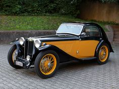 1936 MG TA Coupe