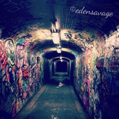 Enmore underpass #streetart #graffiti #innerwest #edensavage