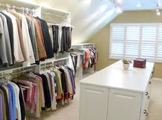attic closet ideas