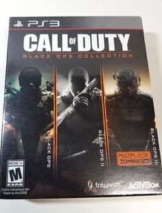 ccc001634797 PS3 Call of Duty Black Ops Collection - 3 Games in 1 - Brand New Sealed