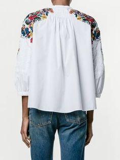Valentino рубашка с вышивкой
