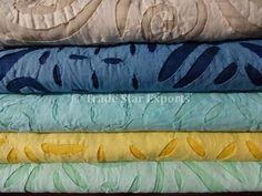Resultado de imagem para cutwork organza cotton jaipur