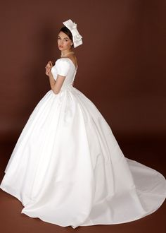 Wedding Dress Fantasy - Audrey Hepburn Inspired Wedding Dress- Available in Every Color , $1,800.00 (http://www.weddingdressfantasy.com/audrey-hepburn-inspired-wedding-dress-available-in-every-color/)
