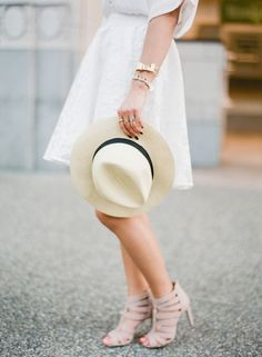 Why we're loving the classic Panama hat: http://www.stylemepretty.com/living/2016/05/02/the-one-accessory-that-pulls-together-any-warm-weather-look/