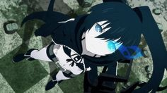 Earlier today Siren Visual sent shock waves across the Australasian Anime Fandom when they announced that they have acquired the license for the critically acclaimed Black Rock Shooter anime series. Black Rock Shooter, Manga Anime Girl, Anime Art, Anime Girls, Girls With Black Hair, Elsword, Anime Style, Art Girl, Character